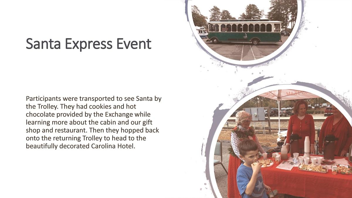 SANTA EXPRESS EVENT 2018