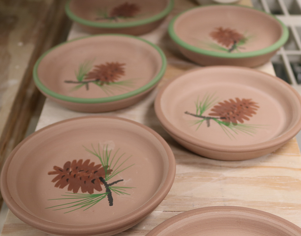 Betsy Younger Pottery Plates