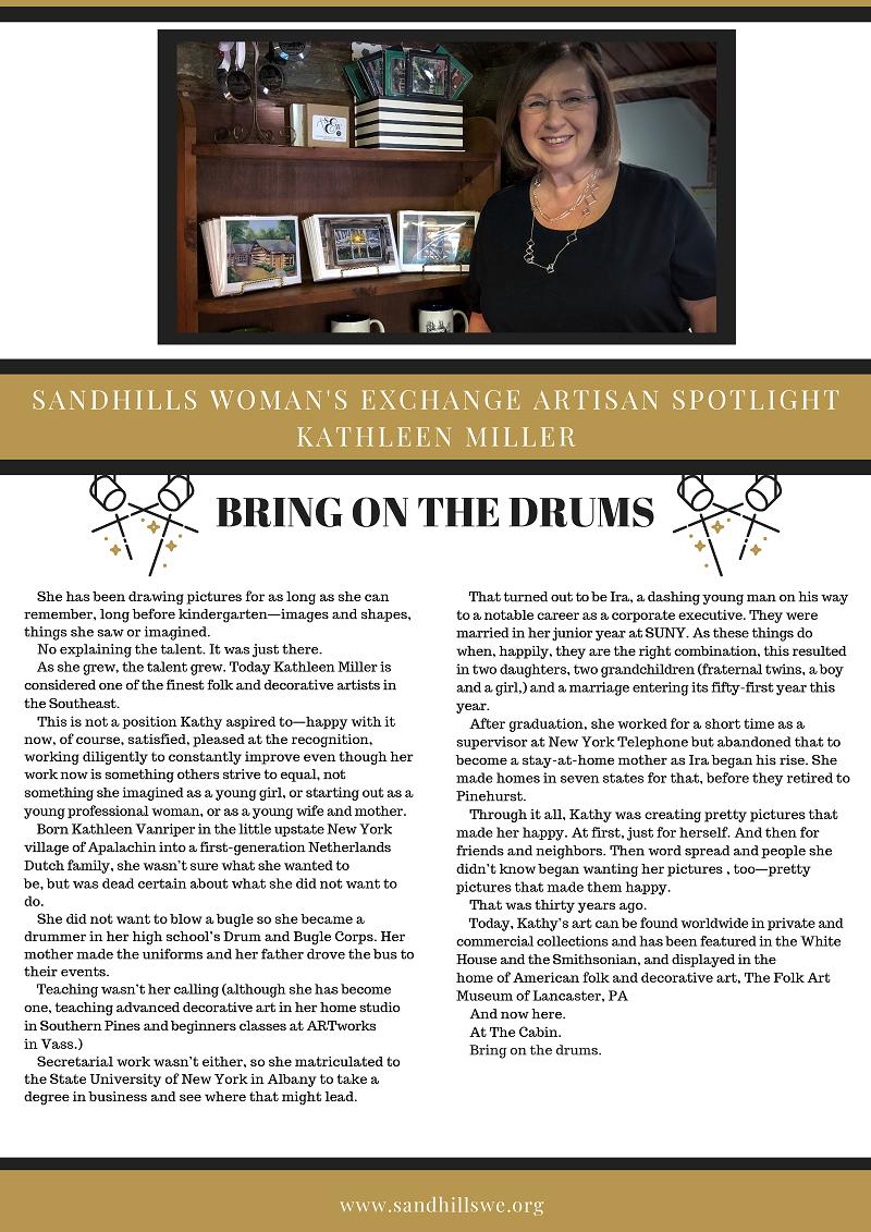 Sandhills Woman's Exchange Spotlight - Betsy Younger