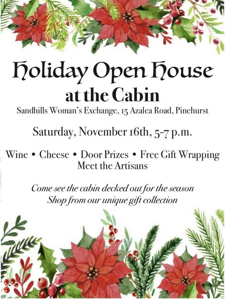 Sandhills Woman's Exchange Holiday Open House