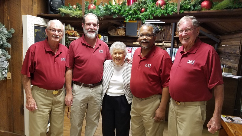 Capital Golf Chorus with Lorraine