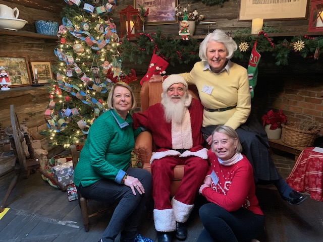 Santa Visits the Cabin 2019