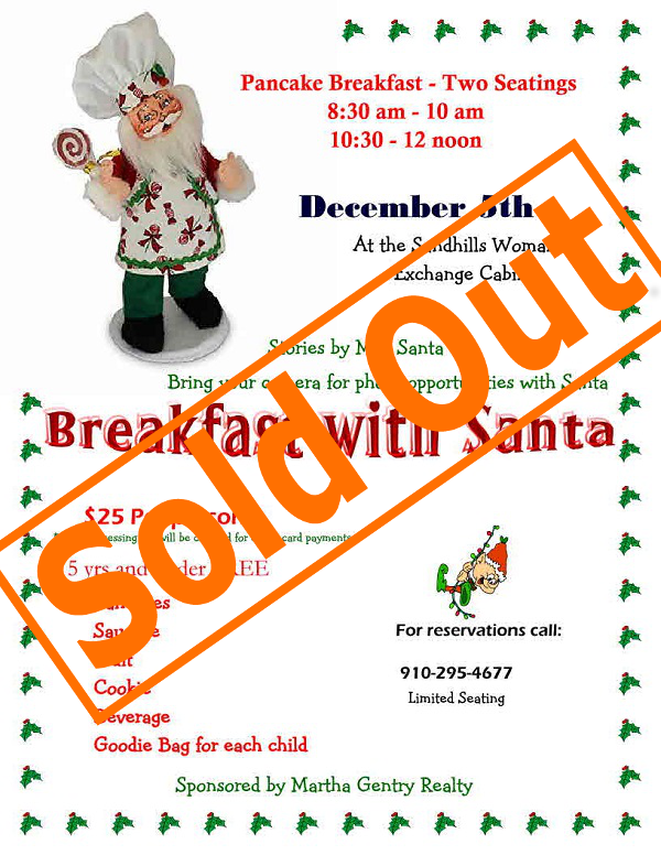 Sold Out Breakfast with Santa