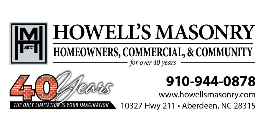 Howell's Masonry Logo